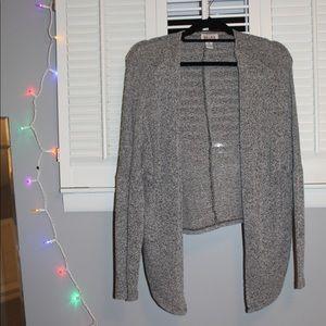 Light gray cardigan!